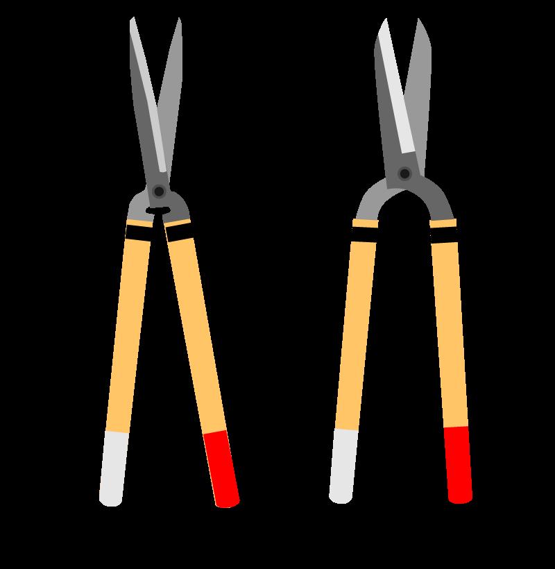 岡恒刈込鋏の種類